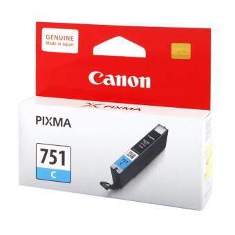 Canon CLI-751C หมึกแท้ สีฟ้า จำนวน 1 กล่อง