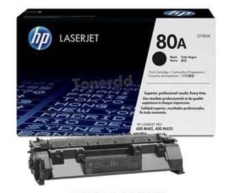 HP ตลับหมึกเลเซอร์ HP80A ( HP CF280A )