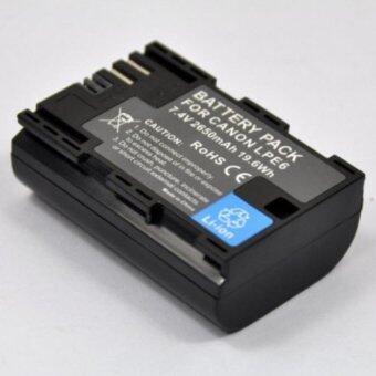 แบตเตอรี่ LP-E6 1800mAh for canon EOS 5D MK III 5D MK II 6D 7D 70D 60D