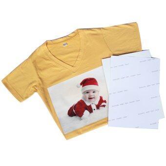 DTawan กระดาษลอกลายลงเสื้อสีเข้ม ผ้าสีเข้ม กันน้ำ จำนวน 10แผ่น