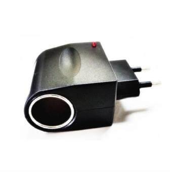 iremax ตัวแปลงไฟบ้าน ให้เป็นไฟ 12V DC แบบที่จุดบุหรี่ในรถ (Black)
