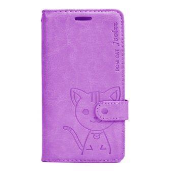DOMI CAT เคส iPhone 4/4s ( สีม่วง )