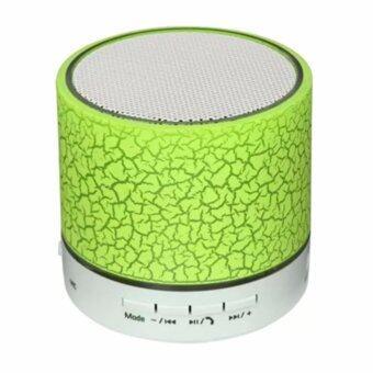 STAR-IT ลำโพง บลูทูธ LED MINI Bluetooth Speaker TF USB รุ่น A9 Green