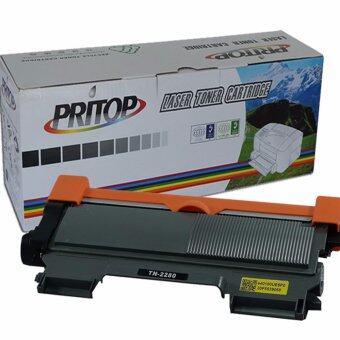 Brother 2280/TN-2280/TN2280 ใช้กับปริ๊นเตอร์รุ่น Brother-HL-2130/2240D/2242D/2250DN/2270DE, DCP-7055/4060D/7065DN, MFC-7240/7360N/7362/7460DN/ 7470D/7860DW PRITOP