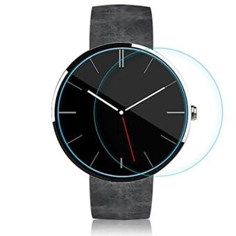 โกรธกันรอยหน้าจอหนังแก้วสำหรับ Motorola Moto 360 นาฬิกาอัจฉริยะ 42มม