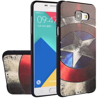 Tpu case RUILEAN นุ่มสำหรับ Samsung Galaxy A7( 2559) A7100 กัปตัน 3D จำหลักภาพเรื่องปิดบัง