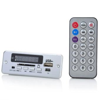 1.0นิ้ว led MP3 โมดูลเล่นกับพี่/รีโมทคอนโทรลเลอร์/ยูเอสบี/มินิ USB/SD ช่อง-เงิน (5โวลต์)
