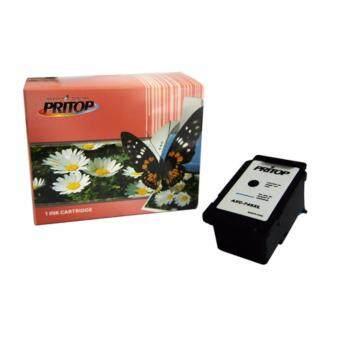PRITOP Axis/Canon ink Cartridge 745BK/PG-745BK/PG 745XL/PG-745BK-XL ใช้กับปริ้นเตอร์รุ่น Canon Inkjet IP2870/MG2570/MG2470 Pritop