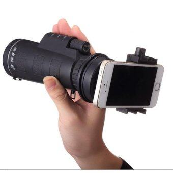 Harga Universal 10x40 Hiking Concert Camera Lens Telescope Monocular With Holder For Smartphone(Import)