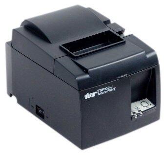 Star Micronics เครื่องพิมพ์กระดาษความร้อน รุ่น TSP143III LAN (Black)