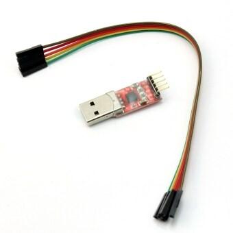 ขายร้อน USB 2.0 เพื่อ TTL UART โมดูล 5pin ตัวแปลงอนุกรม CP2102 STC 5pin สาย