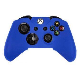 ซิลิโคน XBOX 1 Silicone Rubber Skin Gel Case Protective Cover for XBOX ONE Controller (Blue)
