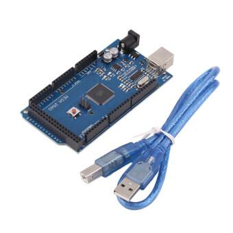 โอ้ Mega 2560 R3 REV3 ATmega2560-16AU สายยูเอสบีเข้ากันได้บอร์ดสำหรับ Arduino