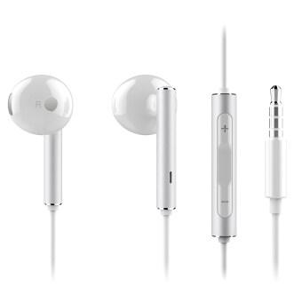 ฉบับ Huawei AM116 หูฟังสเตอริโอชุดหูฟัง (ขาว)