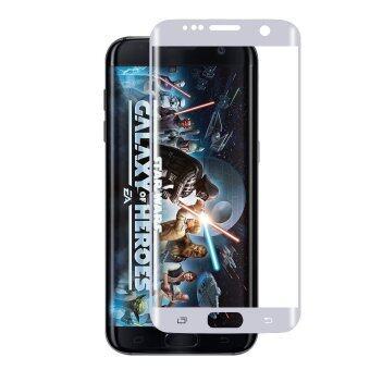Cessory ฟิล์มกันรอย กระจกนิรภัย 3D โค้ง เต็มจอ คลุมขอบ Samsung Galaxy S7 edge / G935 0.26mm (สีเงิน)