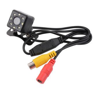 กล้องมองหลัง Universal Waterproof 8 LED Night Vision CCD 170°Viewing Angle Car Rear View Reserve Backup Camera สำหรับ รถยนต์ รถ SUV