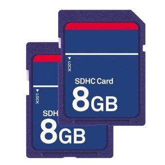 เมมโมรี่การ์ด 8GB SDHC HD memory card for camera (2ชิ้น)