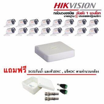ชุดกล้องวงจรปิด 16 ตัว 1MP JIGAMI JM-B16C0TIRP + Hikvision DS-7116HGHI-E1