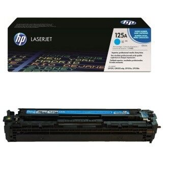 HP 125A Cyan Original LaserJet Toner Cartridge CB541A ? ( สีน้ำเงิน)