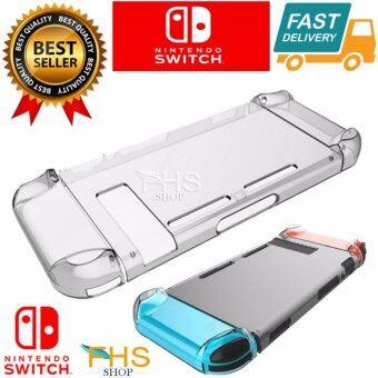 FHS Case Crystal Protector for Nintendo Switch เคสใสชุด 3 ชิ้น ใส่เครื่องเกมส์ Nintendo Switch