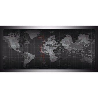 Sharkoon แผ่นรองเมาส์ขนาด 80x30 ซม. ลาย World Map S