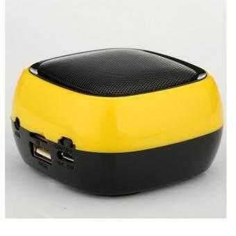KS Mini Bluetooth Speaker MP3 Player ลำโพงบลูทูธ รุ่นY6 (สีเหลือง)