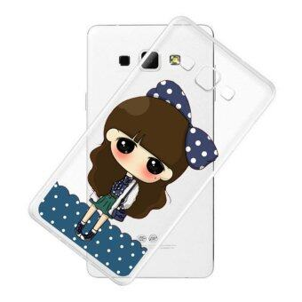 AFTERSHOCK TPU Case Samsung Galaxy J5 2016 (เคสใสพิมพ์ลาย I'm a girl) / Thin 0.33 mm