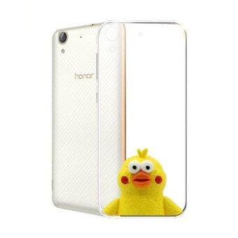 Hug Case TPU เคส Huawei Y6 II เคสโทรศัพท์พิมพ์ลาย Yellow2 เนื้อบาง 0.3 mm