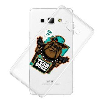 AFTERSHOCK TPU Case Samsung Galaxy J5 2016 (เคสใสพิมพ์ลาย Team Dogz) / Thin 0.33 mm
