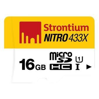 รีวิวสินค้า Strontium Nitro MicroSD UHS-1 65MB/s 16GB(STT-SRN16GTFU1R) ขายถูก