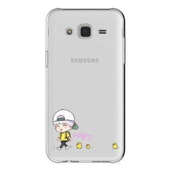 HugCase TPU เคส Samsung Galaxy Grand 2 เคสโทรศัพท์พิมพ์ลาย Go Go เนื้อบาง 0.3 mm