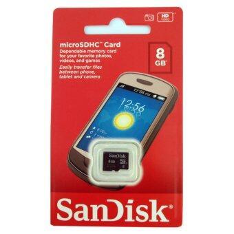 เมมโมรี่ ไมโคร เอสดีเฮชซี การ์ด แซนดิสก์ 8GB (ของแท้)