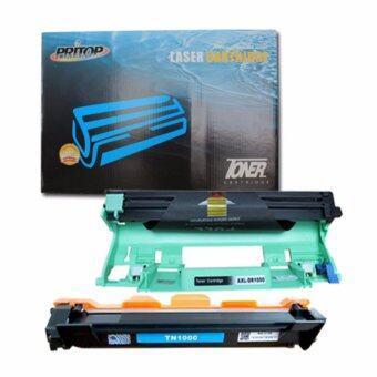 Axis/Brother HL-1110/1210W,DCP-1510/1610W,MFC-1810/1815/1910W ใช้ตลับหมึกเลเซอร์เทียบเท่ารุ่น 1000/TN-1000/TN1000 & 1000/DR-1000/DR1000 Pritop