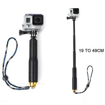 ไม้เซลฟี่ TMC Monopod ยืด19-49cm (สีทอง) สำหรับกล้อง Gopro / Xiaomi Yi / SJCAM
