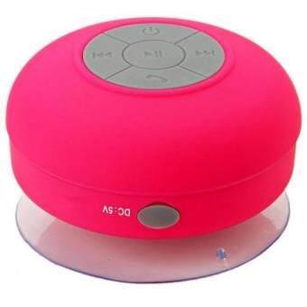 DT ลำโพงบลูทูธกันน้ำ Waterproof Bluetooth Speaker BTS-06 (สีแดง)