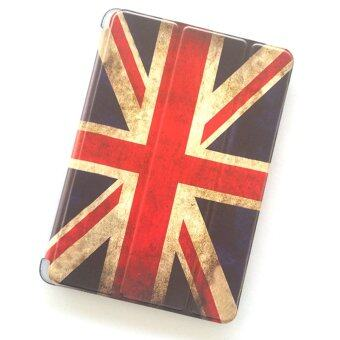 Little Fire ไอแพดมินิ 1/2/3 Ultra slim Classic England Flag Back Clear hard Plastic Case For Apple iPad mini 1/2/3 (ธงชาติอังกฤษ)
