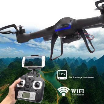 Droneติดกล้องNEW WiFiพร้อมระบบถ่ายทอดสดแบบRealtimeสามารถต่อดูภาพผ่านมือถือได้ทันที(NEWมีระบบ กันหลงทิศ)