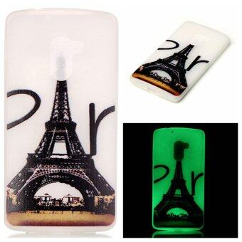 Harga Noctilucent TPU Back Case for Lenovo Vibe K4 Note/Vibe X3 Lite - Eiffel Tower - intl