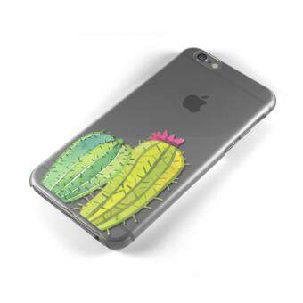 AFTERSHOCK TPU Case iPhone 6 Plus / 6s Plus (เคสใสพิมพ์ลาย Cactus) / Thin 0.33 mm