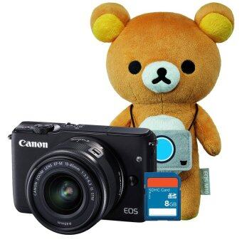 Canon EOS M10 Kit (EF-M15-45mm)(Black) x Rilakkuma Special Edition + SD 8 GB(ประกันศูนย์) (image 0)