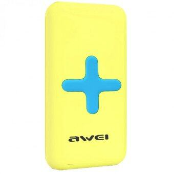 Awei Wireless Charging Power Bank iPhone รุ่น P98K (เหลือง)