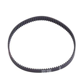 Round Toothed Belt 6mm Wide 2mm Pitch for Pulley 3D Printer CNC(200mm) - intl
