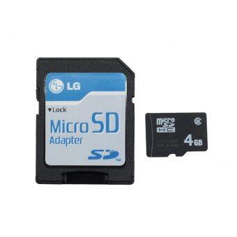 เมมโมรี่การ์ด 4GB Micro SD Class2 for mobile phone
