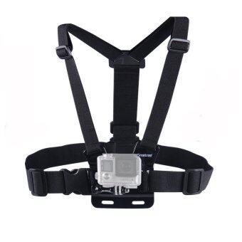 Harness Chest Strap สายรัดหน้าอก สำหรับกล้องกันน้ำยี่ห้อ GoPro, SJCAM, Xiaomi