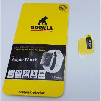 Gorilla ฟิล์มกันรอยแบบชิวเต็มจอ Apple Watch 38 mm,ชิวแบบเต็มจอ