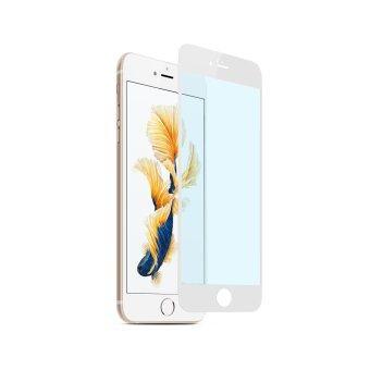 Cessory ฟิล์มกระจกนิรภัย เต็มจอ ตัดแสงสีฟ้า iPhone 6, 6s (4.7นิ้ว) 0.26mm 2.5D ขอบมน (สีขาว)