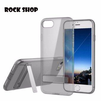 Harga ROCK TPU SLIM JACKET (KICKSTAND) CASE FOR IPHONE 6plus/6s plus-สีดำ