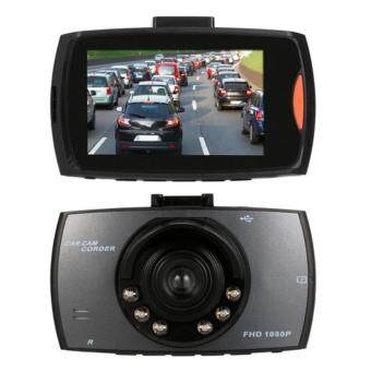 HD DVR Carกล้องวงจรปิดติดรถยนต์Full HDอินฟราเรด6ดวง(สีดำ)(Black)1ตัว