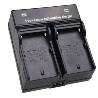 Harga 9FINAL Dual Channel Battery Charger for SONY NP-F970 F750 F960 QM91D FM50 FM500H FM55H Battery