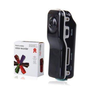 Hayashi Outdoor sports camera recorder กล้อง Mini DV Camera กล้องติดรถ กล้องติดหมวก รุ่น MD80 (สีดำ)